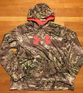 Under Armour Women's Hoodie Size 2XL Real Tree Camouflage Nwt Storm 1 Hunting