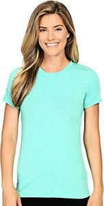 Brooks Womens Distance Short Sleeve Top  T-Shirt LG (Womens 12-14)