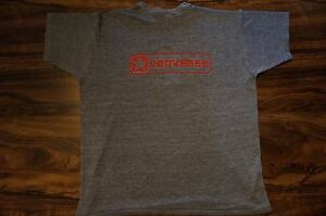 VTG 80s CONVERSE TRI-BLEND CANADIAN NATIONAL BASKETBALL TEAM CANADA T-SHIRT L+