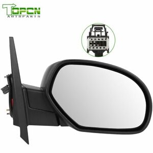 Passenger View Mirror Power Heated Side RH for Silverado Sierra Tahoe Yukon XL
