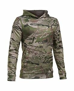 Under Armour Boys' Icon Camo Hoodie Ridge Reaper Camo BaArtillery Green Yo...