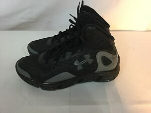 Under Armour Spine Bionic Men's Basketball Shoes Size 8.5 (BLACK) 1238198-003
