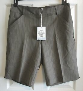 NIKE GOLF Tec Woven Fit Dry Shorts Womens Size 8 NWT