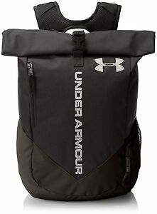 Under Armour UA Roll Trance Sackpack Backpack Black Camp Sports Travel Bag