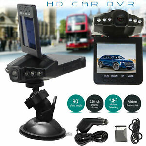 HD 1080P Car Video Recorder Camera Vehicle Dash Cam DVR Night Vision G-sensor