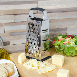 4-Sided Heavy-Duty Stainless Steel Box Grater