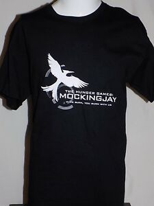The Hunger Games Mockingjay T-Shirt - If We Burn - L - Rare & Hard to Find