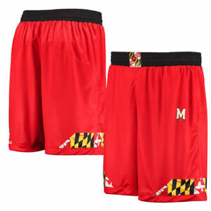 Under Armour Maryland Terrapins Red Lacrosse Replica Shorts - College