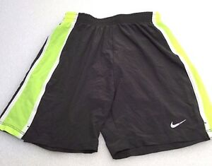 Nike Girl's Youth Junior Dri Fit Tempo Running Training Shorts 403904 Gray S