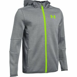 Under Armour Storm Swacket Full Zip Hoodie - Boys - Graphite
