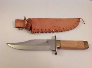 VINTAGE CVA ITALY CONNECTICUT VALLEY ARMS ITALY MOUNTIAN MAN HUNTING BOWIE KNIFE