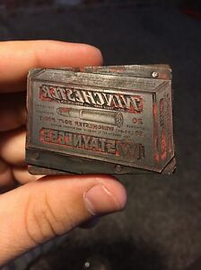Winchester Ammo Box Brass Stamp Staynless 30 30 Soft Point Vintage Smokeless