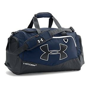 Under Armour Undeniable 2 Duffel Bag Gym Workout Sport Luggage Royal Large Navy