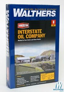 3200 Walthers Cornerstone Interstate Fuel amp; Oil N Scale $29.49