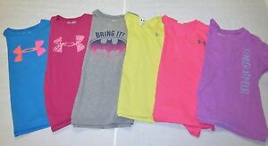 Under Armour UA GIRLS 23 Pc Clothes Lot Size Youth Large Shirts Hoodies Shorts