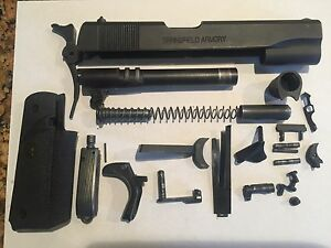 1911 A 1 Springfield 45 ACP Complete Slide ASSY With Builders Kit
