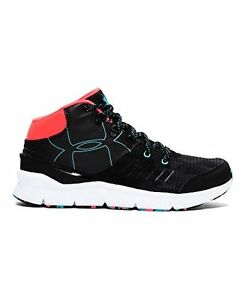Under Armour 1273364-001 Girls UA Overdrive Mid Grit Shoes  Black