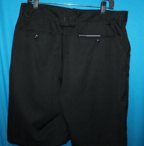 UNDER ARMOUR GOLF SHORTS MENS SIZE 34R UNDER ARMOUR CASUAL SHORTS NICE PIN STRIP