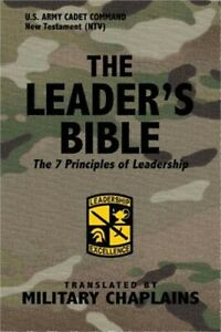 The Leader's Bible (US Army Cadet Command) by Military Chaplains (Paperback or S