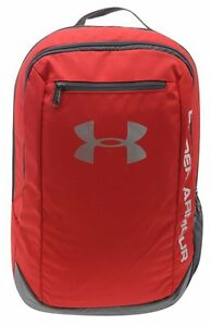 Under Armour Hustle SchoolbagBackpack - RedSilver