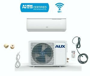 AUX MINI Split Air Conditioner Ductless Heat Pump System 12000 BTU 115V WiFi 12F