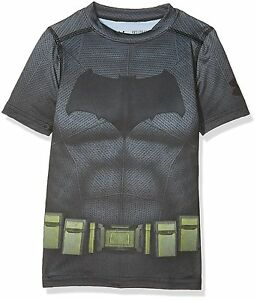 Under Armour 1275497-040 Boys Alter Ego Batman HeatGear T-Shirt Youth  Big