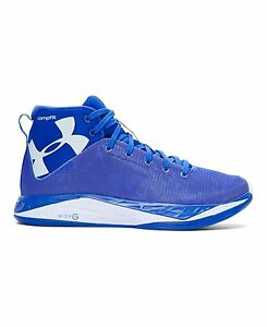 Under Armour 1276857-400 Boys Grade School UA Fireshot Basketball Shoes 4.5 TEAM