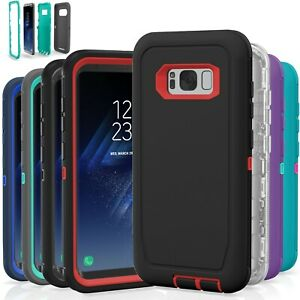 Samsung Galaxy S8  S8 Plus Case Cover Shockproof Hybrid Hard Rugged Rubber TPU