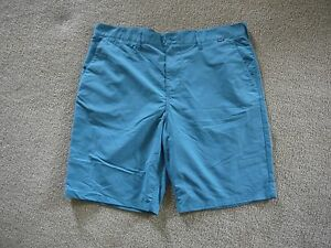 Hurley's Men's 36 Shorts Nike Dry Fit Blue