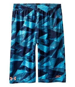Kids Stephen Curry Under Armour Shorts XS S M L XL