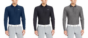 Under Armour Men's Playoff Long Sleeve Polo 6 Colors