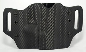 Black Carbon Fiber OWB Kydex Holster For 1911 Beretta Bersa amp; Browning $36.54