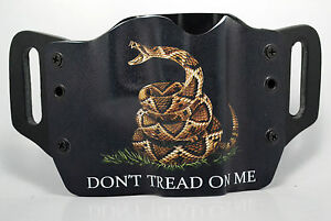 Don#x27;t Tread On Me Black OWB Kydex Holster For 1911 Beretta Bersa amp; Browning $38.24