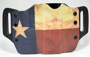 Texas Flag OWB Kydex Holster For 1911 Beretta Bersa amp; Browning $38.24