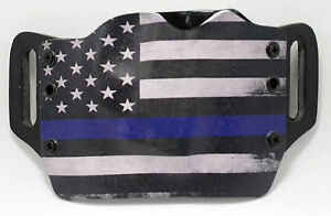 Thin Blue Line OWB Kydex Holster For 1911 Beretta Bersa amp; Browning $38.24