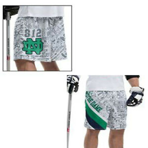 Mens Notre Dame Fighting Irish Under Armour Lacrosse Shorts Team Issued Large