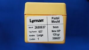 LYMAN Pistol Mould Single Cavity 9mm - NEW