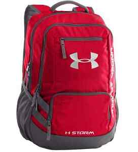 Under Armour Hustle II Women Mens Travel School Gym Sports Rucksack Backpack Bag