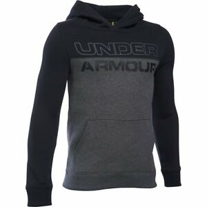 Under Armour Titan Fleece Hoodie - Boys - Carbon Heather