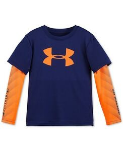 T Shirt under Armour For Little Boys Free Ship To US