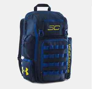 UA Under Armour Men's SC30 Backpack Steph Curry AcademyRoyalTaxi Basketball ba