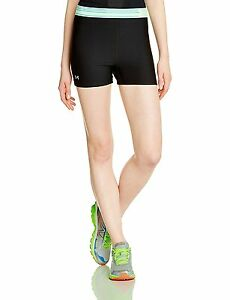 Under Armour Heatgear Womens Alpha Shorty - SS15 - X Large - Black