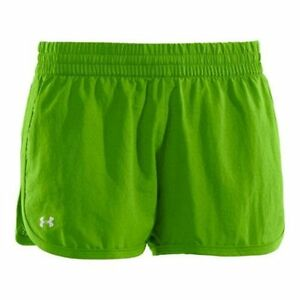 Under Armour Womens Perforated UA Great Escape Shorts II X-Large Poison