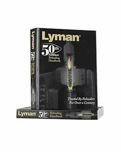 Lyman 50th Edition Reloading Manual Hardcover Free Shipping
