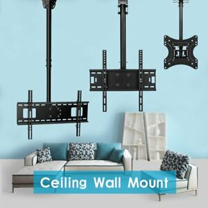 Ceiling Hanging SWIVEL Plasma LED LCD TV Mount 22 26 32 37 42 46 50 60 65 70