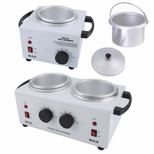 SingleDouble Pot Wax Heater Warmer Machine Professional Depilatory Salon Hot US