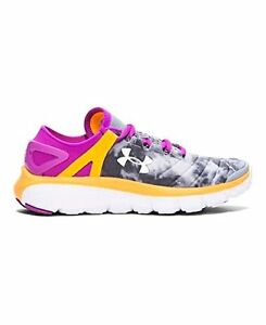Under Armour - 1267485-035 Girls Grade School UA SpeedForm Fortis Atom 4 Steel