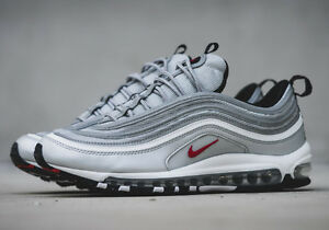 NIKE AIR MAX 97 SILVER BULLET OG BRAND NEW IN BOX ALL SIZES ADULTS