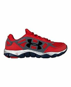 Under Armour Big Boys Grade School Micro G Engage Running Shoes 5 Red