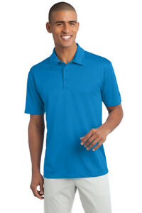 12 Custom Logo Added Port Authority Dri-Fit SIlk Touch Polo Golf Shirt K540 $16